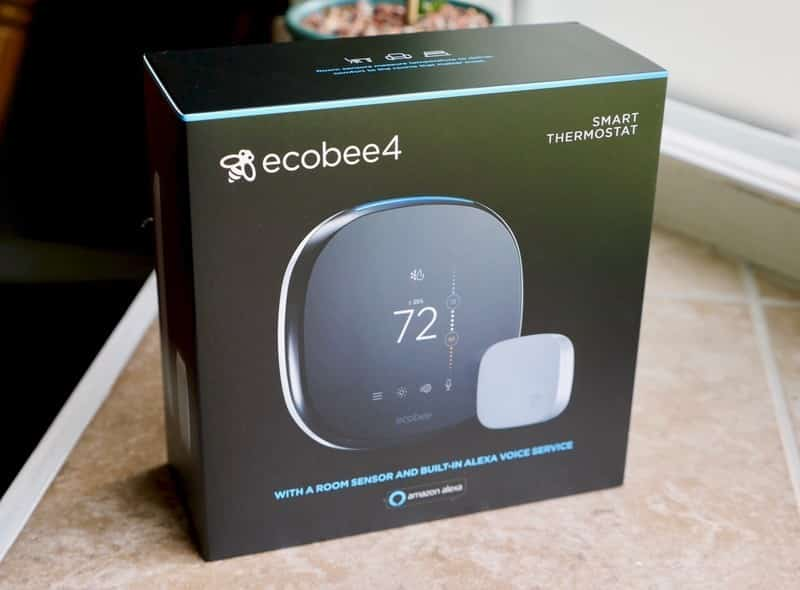 Ecobee4 Alexa-Enabled Thermostat with Sensor Review