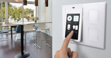 Wink Relay Smart Home Touchscreen Control Panel Intercom