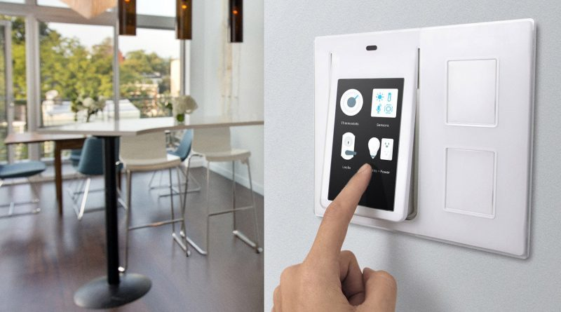 Wink Relay Smart Home Touchscreen Control Panel Intercom ...