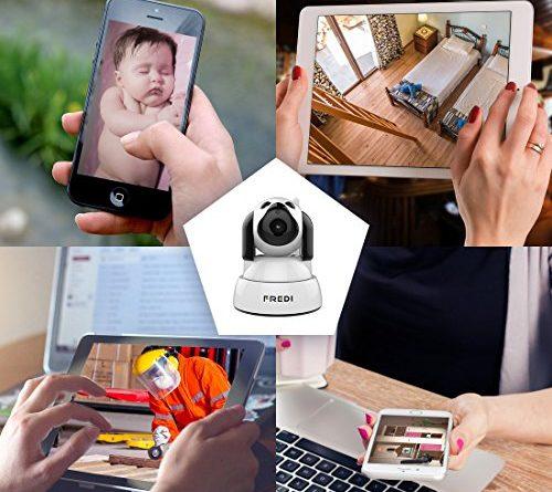FREDI Wireless Camera Baby Monitor