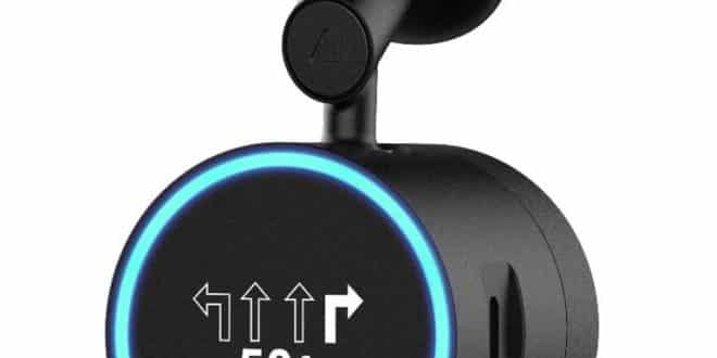 Garmin Speak Plus with Amazon Alexa and built-in Dash Cam