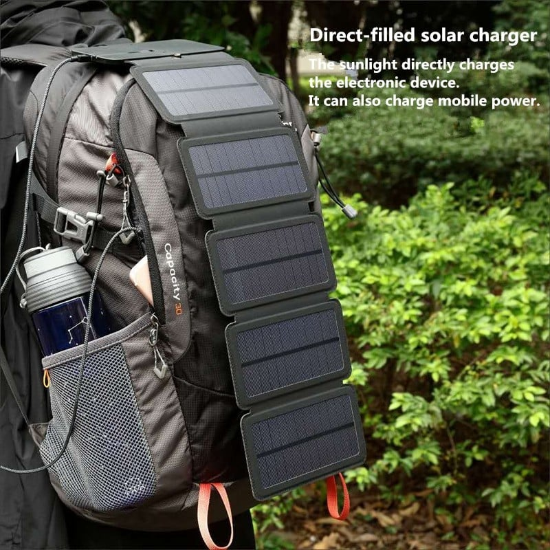 KERNUAP SunPower Folding 10W Solar Cells Charger