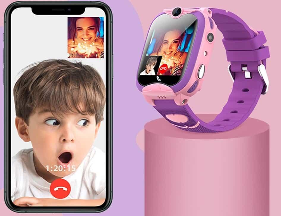 Kids-Smart-Watch-4G-GPS-Wifi-Location-Student-Kids-Smartwatch-Children-s-Phone-Watch-Dual-Cameras-best-greatest-rated-smartwatch-for-kids