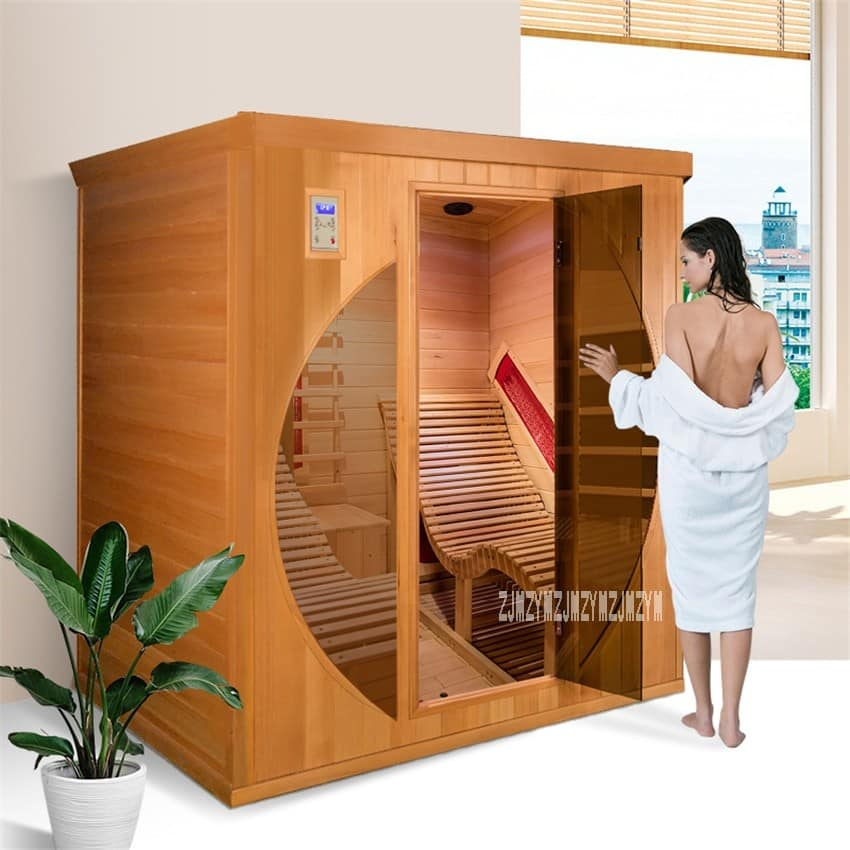 2-Person-Home-Dry-Steam-Sauna-Room