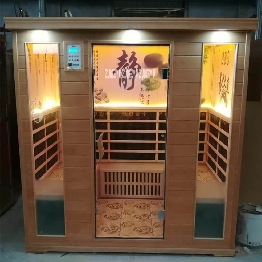 4-person-Sauna-Steaming-Room