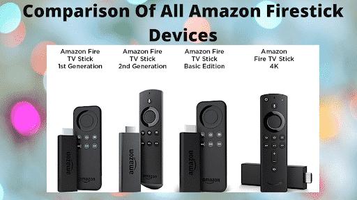 Comparison Of All Amazon Firestick Devices