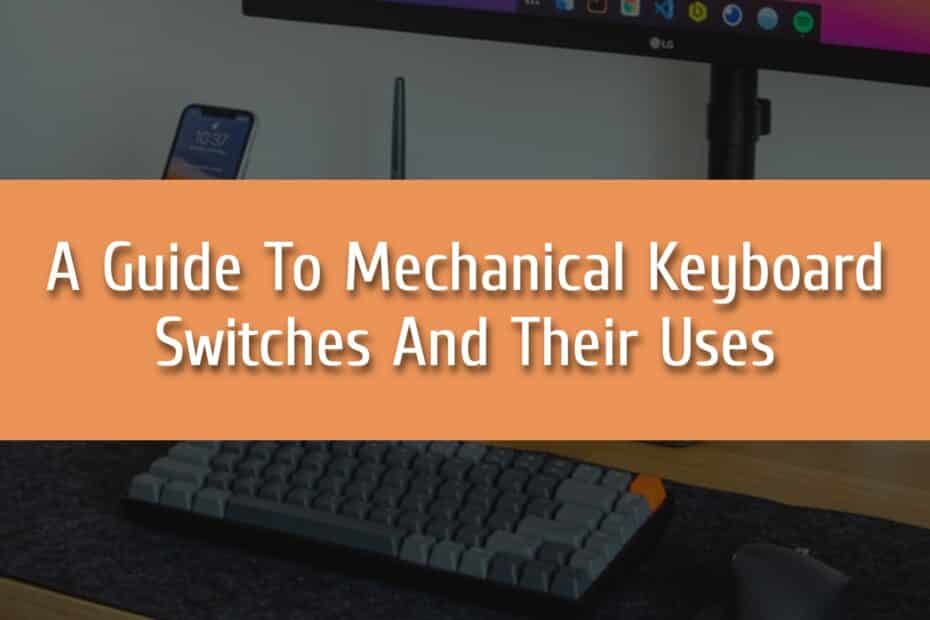 A Guide To Mechanical Keyboard Switches And Their Uses